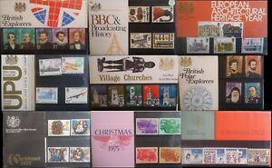 GB 1964 - 1981 Commemorative & Definitive Regional 2000 Presentation Packs Multi