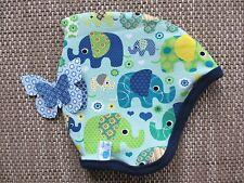 Wendemütze Zipfelmütze Zwergenmütze *Elefanten* Kopfumfang 50-52