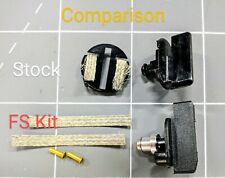 Scalextric slot car guide kit for Carrera 1/32 1/24 tracks -Frankenslot Black ..