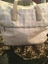 AUTH. CHANEL TRAVEL TOTE BAG/BEIGE SZ XLARGE