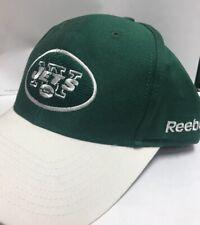 d3e314a6042 New York Jets NFL Reebok Adjustable Strap Hat Cap White Green