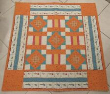 Chirper Baby Quilt - unique and handmade