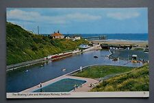 R&L Postcard: Saltburn-by-the-Sea, Boating Lake & Miniature Railway, Bamforth
