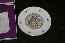 "1977 Royal Doulton Valentine's Day 8 .5"" Collectors Plate My Valentine, In Box"