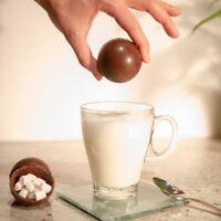 Hot Chocolate Bomb Marshmallow Bedtime Treat Drink Kids Sleepover Novelty Gift