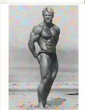 bodybuilder ANDREAS CAHLING Mr International Bodybuilding Muscle Photo B&W