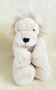 The Little White Company Rory Lion Comforter Hug Toy Plush Super Soft Fur VGC