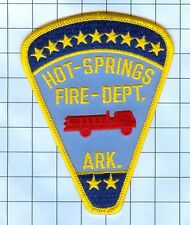 Fire Patch - HOT SPRINGS ARK.