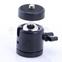"""360 Swivel Mini Ball Head 1/4"""" Screw For Dslr Camera Tripod Ballhead Stand TW"""