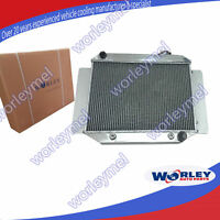 For Holden Radiator HD HG HQ HJ HK HT LH LX 161 186 202 3 Row 56mm AT MT
