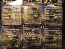 BBI Elite Force 1:18 Gear Weapons SET LOT OF 6 - 5 DIFFERENT SETS!!