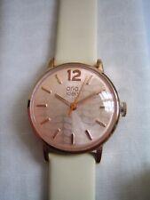 Orla Kiely Ladies Watch OK2012 Oro Rosa Acero Inoxidable Frankie Cuero Nuevo Y En Caja