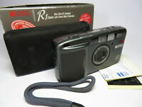 Ricoh R1 Iconic Boxed 24mm Wide Panorama 35mm AF Zoom Camera (*NOT Working*)
