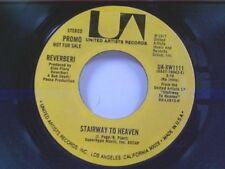 "REVERBERI ""STAIRWAY TO HEAVEN / MUNI'S MOOD"" 45 PROMO"