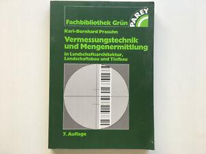 Fachbuch Vermessungstechnik und Mengenermittlung
