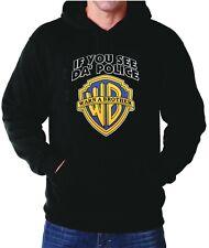 Hoodie If you see the Police Warn a Brother Funny Hoodies Hooded Sweatshirt