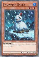 3 x Yu-Gi-Oh Card - AC18-EN008 - SNOWMAN EATER (super rare holo) - NM/Mint