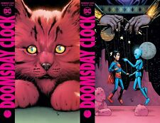 DOOMSDAY CLOCK #8 Variants A & B GARY FRANK 2018 Ships FREE NOW fast!!!