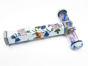 Objects-floating-in-oil Handmade Arita Ware Kaleidoscope (Somenishiki)