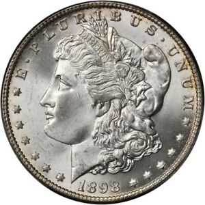 U.S. 1898-O MORGAN SILVER DOLLAR GEM BRILLIANT UNCIRCULATED PCGS CERTIFIED MS66