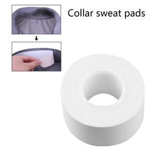 1 Roll Collar Protector Anti-sweat Disposable Women Men Sweat Pad White Tape Np