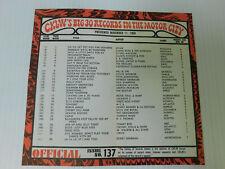CKLW Big 30 Detroit Music Chart Week of November 11 1969 Diana Ross & Supremes
