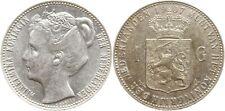 Niederlande, Wilhelmina, 1 Gulden 1907