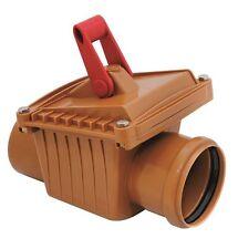 Rückstauklappe in Wasserrohre für Heimwerker-Installationen