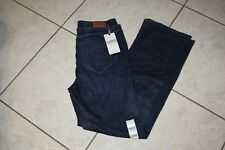 Liz Claiborne Womens Classic Fit Bootcut  Dark Wash Jeans Stretch Size14 *New*