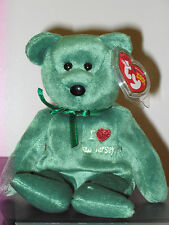 Ty Beanie Baby ~ I LOVE NEW JERSEY the Bear ~ MINT with MINT TAGS ~ RETIRED