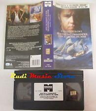 film VHS MASTER AND COMMANDER SFIDA CONFINI MARE Russel Crowe Miramax(F68)no dvd