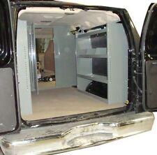 """Van Shelving Unit GMC Savana, Chevy Express, Ford Econoline - 38""""L x 44""""H x 13""""D"""