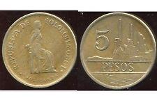 COLOMBIE 5 pesos 1980