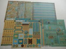 "Recess - Tiki Shack Horizon - Scrapbooking Paper Pack 12x12"" RE-518020"