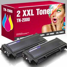 2 Kartuschen kompatibel mit Brother HL 2030 TN-2000
