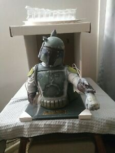 Illusive Concepts Boba Fett Bust  with papers and Original Box  3595/10000