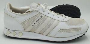 Adidas LA Trainer Low Leather/Mesh Trainers B24255 White UK10/US10.5/EU44.5