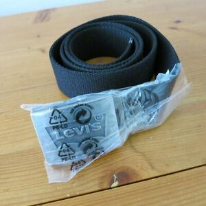 """Mens / Unisex Levi's """"Batwing"""" Webbing Belt - Adjustable"""