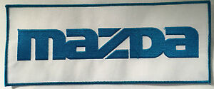 Mazda embroidered cloth back patch.