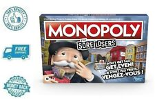 New Hasbro Monopoly for Sore Losers Board Game Family Party Gaming Night  8+