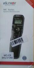 VILTROX MC-C3 LCD Timer Lapse Intervalometer Timer Remote Control Shutter