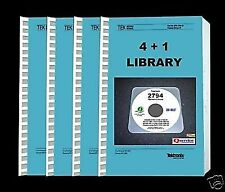 TEKTRONIX 2794 COMPLETE PAPER MANUALS LIBRARY 4 + 1