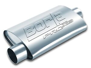 Borla 40359 Pro XS Muffler 3 inch inlet and outlet universal