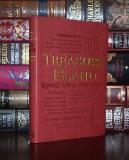 Treasure Island by Robert L. Stevenson Unabridged Deluxe Soft Leather Feel Ed