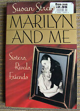 Marilyn Monroe Marilyn and Me: Sisters Rivals Friends Paperback 1992 Strasberg
