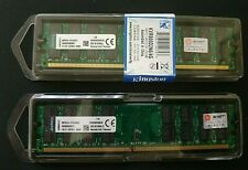 KINGSTON KVR800D2N6/4G DDR2-800 4GB PC2-6400 240 PINS 2 PCS 2 x 4GB (8GB) PAIRED