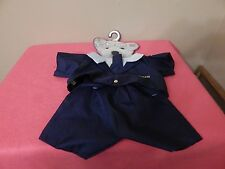 """Policeman Cuddly Cousin's Bear Outfit fits 11"""" Bear ~ Brand New"""