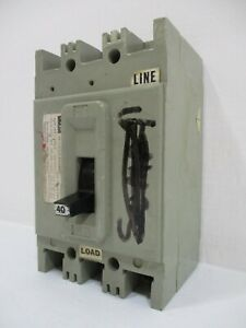 FPE Federal Pacific HEF621040 40 Amp 600V 2-Pole Type HEF Circuit Breaker 40A