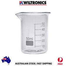 Beaker Borosilicate Glass Low Form 50ml x10 LG1101-50