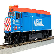 NEW Kato HO Chicago METRA EMD F40PH w Lights Ditch #137 City of West Chicago